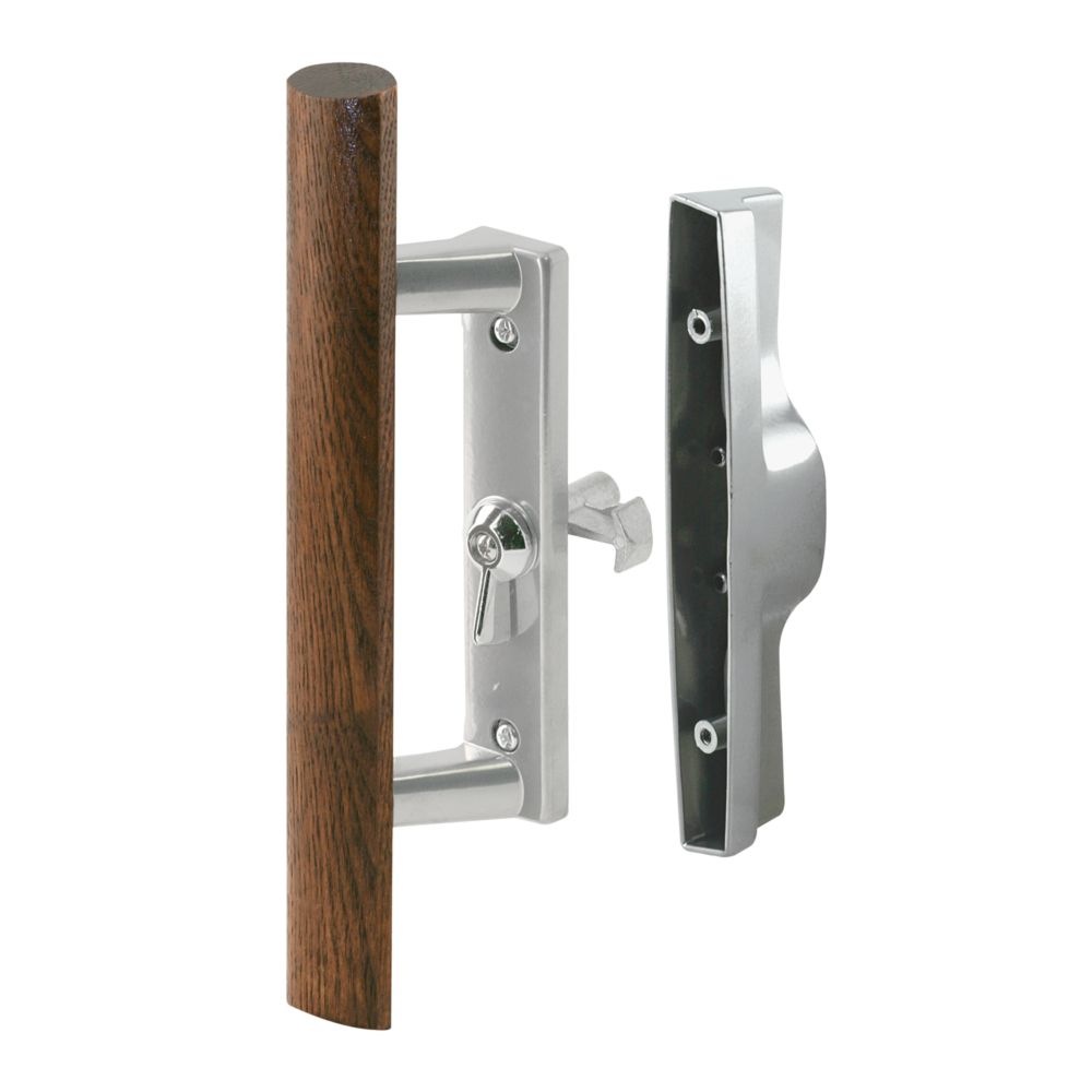 Internal Glass Door Handle Set