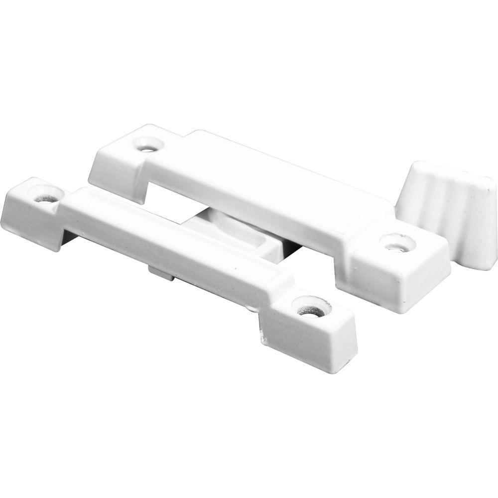 White Cam Action Window Sash Lock