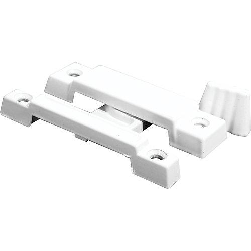 Cam Action Window Sash Lock in White
