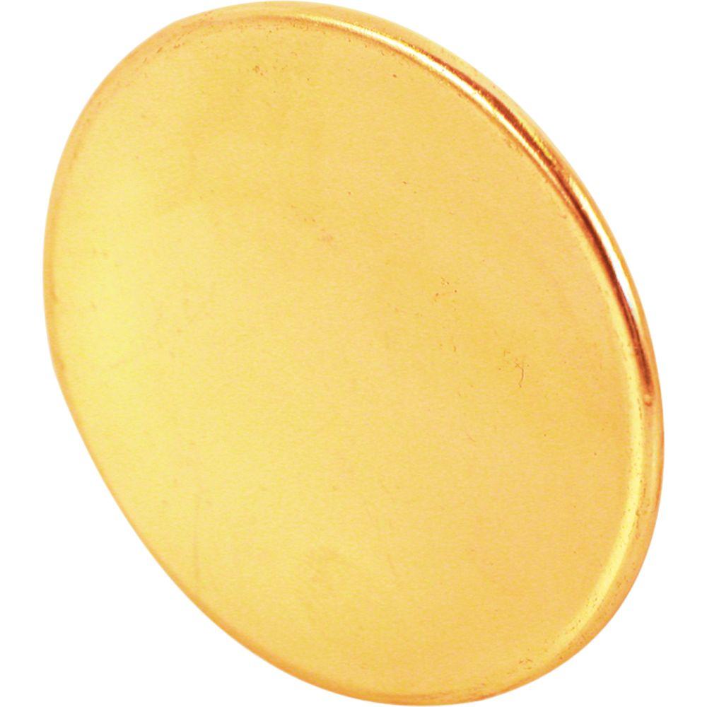 Bouton de porte de 1-3/4 po en laiton pour porte repliable