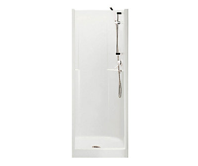 Stunning 28 inch shower stall pictures inspiration the for Douche fibre de verre