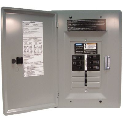 Siemens 6/12 Circuit 30A 120/240V Generator Panel