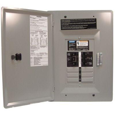 6/12 Circuit 60A 120/240V Siemens Panneau de générateur