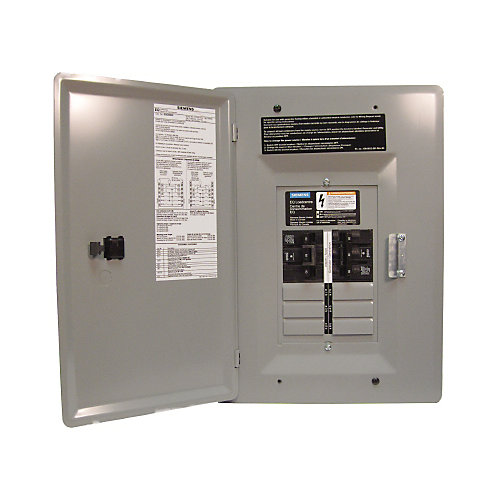 Siemens 6 12 Circuit 60a 120 240v Generator Panel The Home Depot