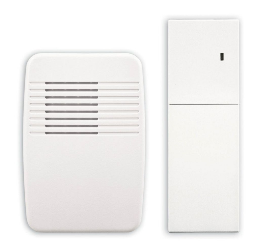 Wireless Plug-In Door Chime and Chime Extender