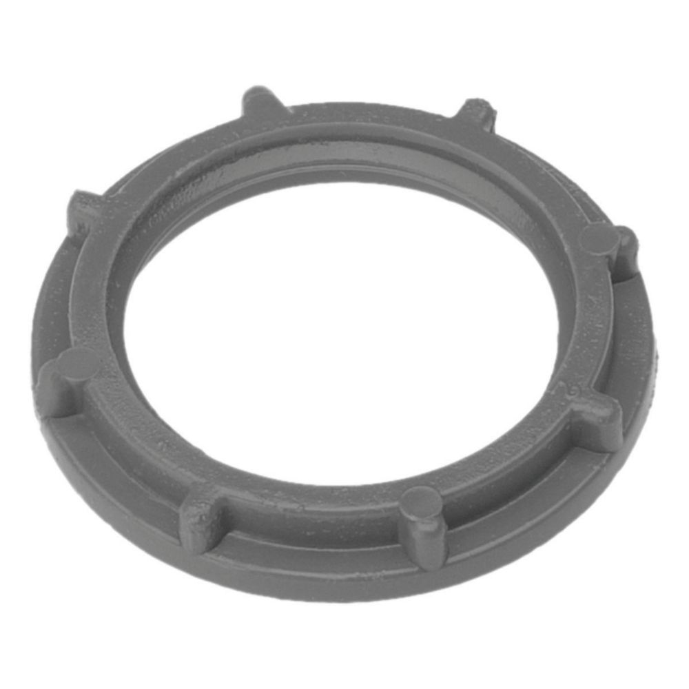 Schedule 40 PVC Locknut  � 3/4 In