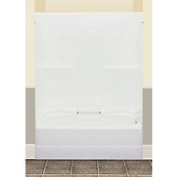 MAAX FW64S bain/douche rectangulaire - 2 pièces drain à gauche
