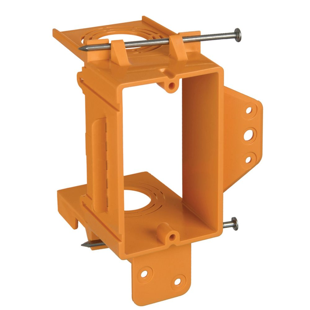 1 Gang Low Voltage Mounting Bracket � New work