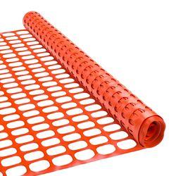 Peak Products Clôture à neige 48 pouces x 50 pieds - Orange