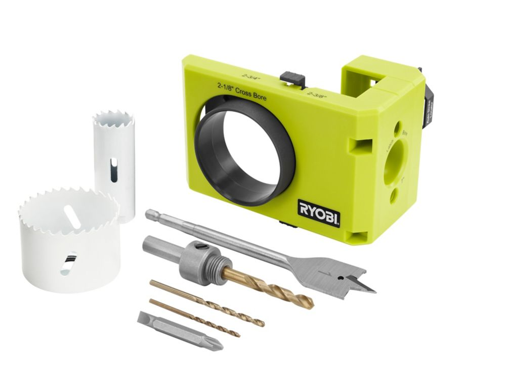 Ryobi Wood Metal Door Lock Installation Kit