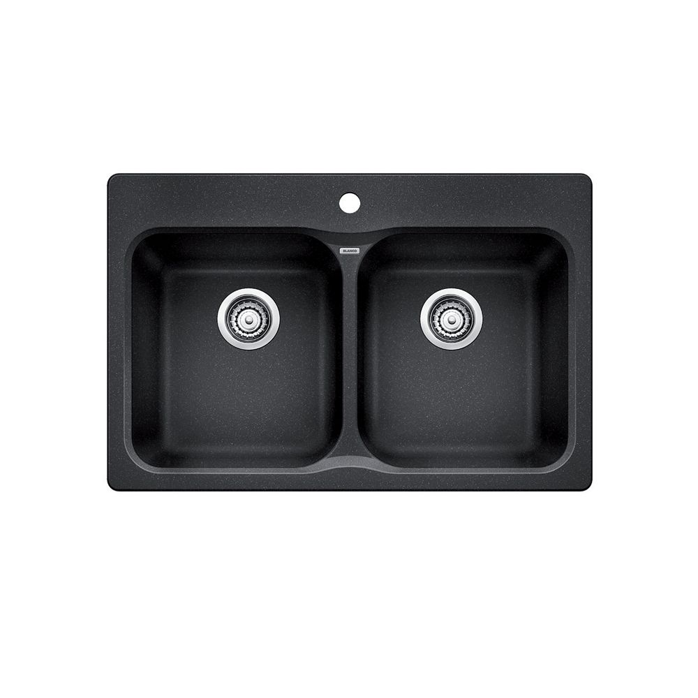 Vision 210 Topmount Sink in Anthracite