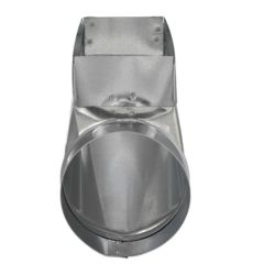 Imperial 3 1/4 x 10 x 6 Inch End Boot