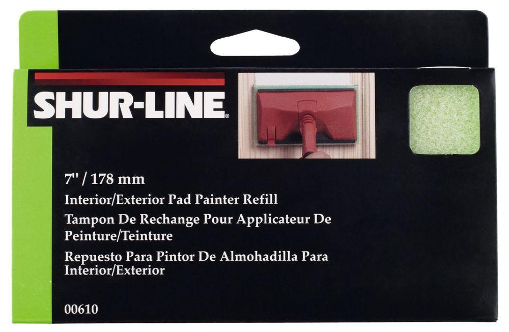 Tampon de rechange pour applicateur de peinture /teinture
