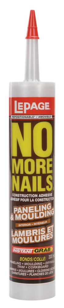 No More Nails Lambris et moulures (300ml)