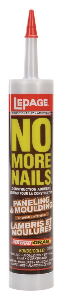 No More Nails Paneling & Moulding (300ml)