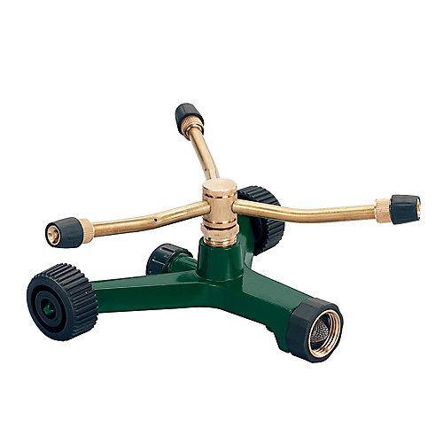 3-Arm Brass Rotary Sprinkler