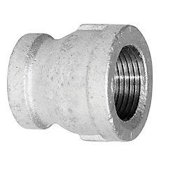 Aqua-Dynamic Fitting Galvanized Iron Coupling 1-1/4 Inch x 1 Inch