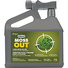 MossOut with Lawn Food 5-0-0