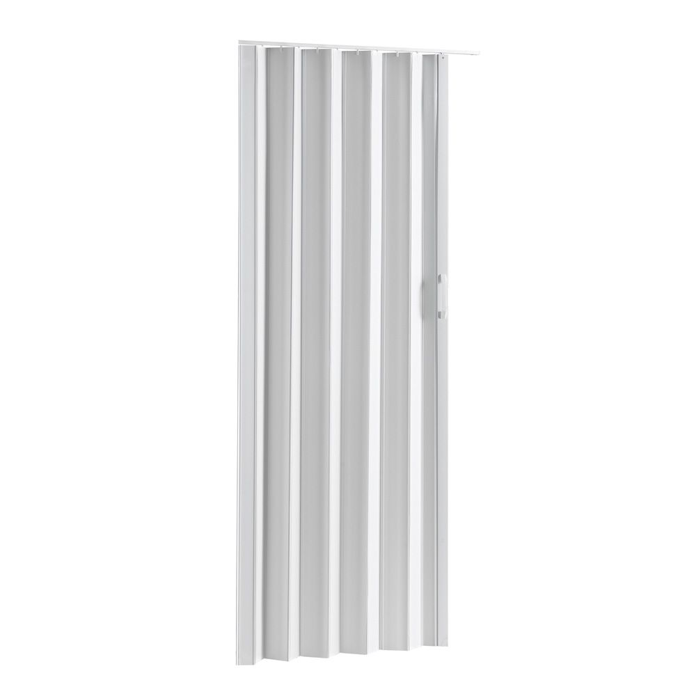 Folding Door - Via White 36 inch-48 inch X 80 inch
