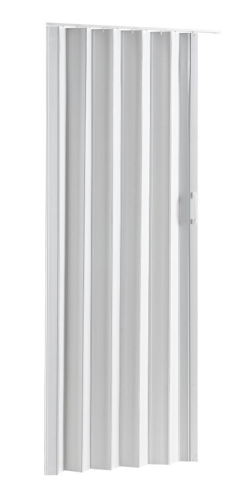 Folding Door - Via White 32 inch-36 inch X 80 inch
