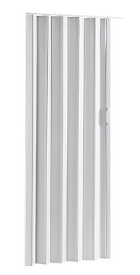 Colonial Elegance Via Folding Door 24-36 x 80 White | The Home Depot ...