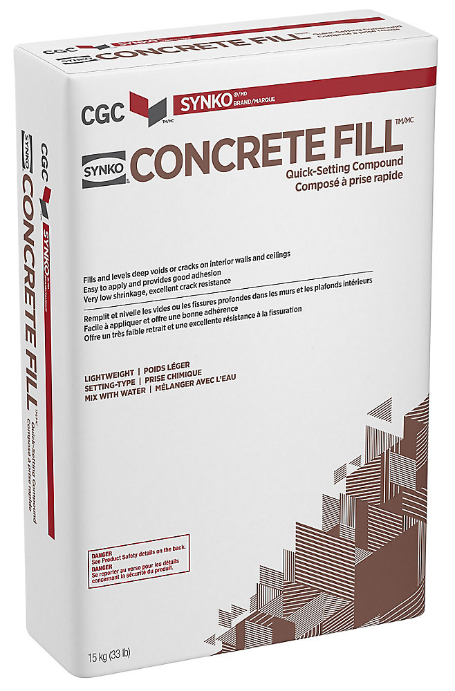 Synko Concrete Fill Wall and Ceiling Compound, 15 kg Bag | The Home