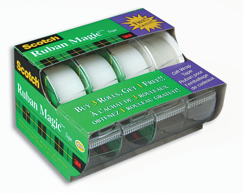 Scotch Magic Tape 4 Pack
