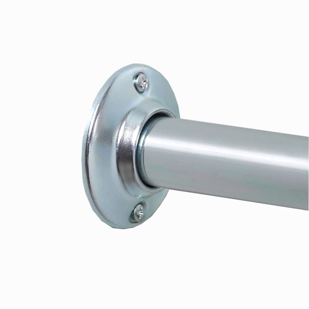 Moen Adjustable Curved Shower Rod - Chrome   The Home Depot Canada