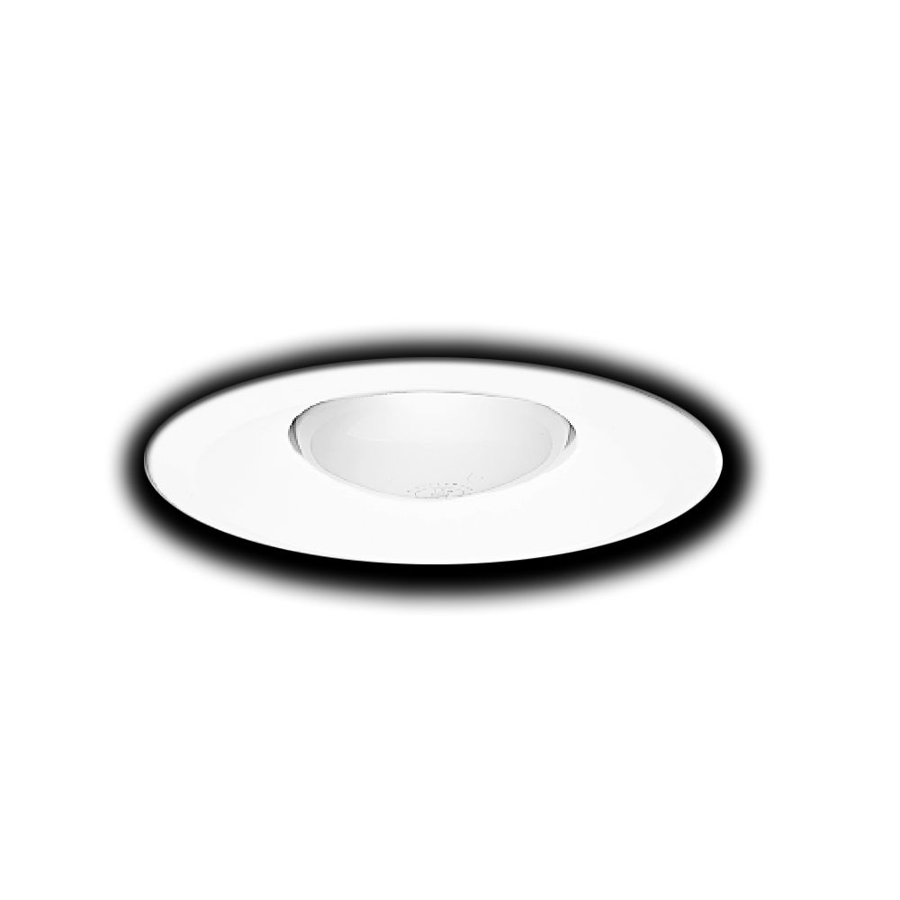 White Open Splay Trim-6 Inch Aperture