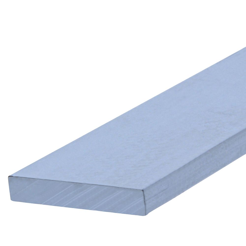 Papc 1/8x1x3 Flat Aluminum