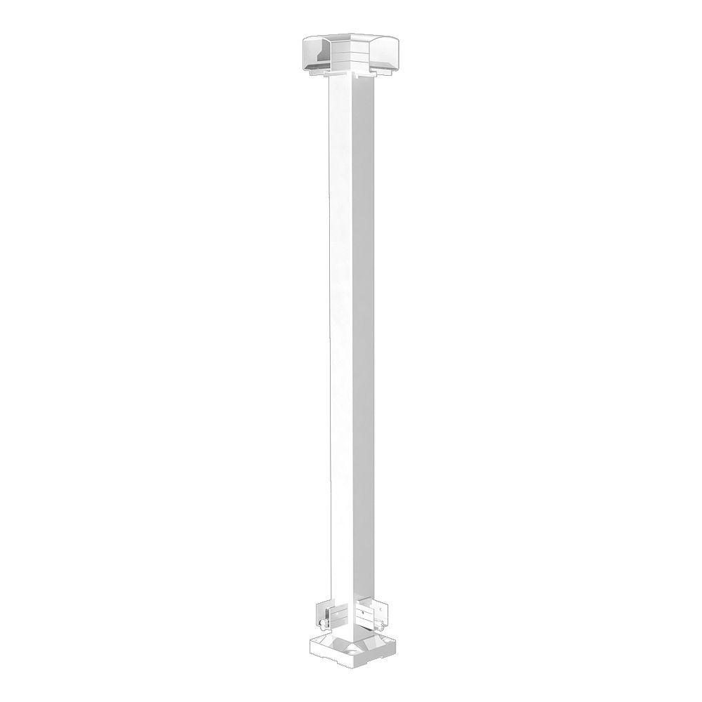 RailBlazers White Corner Post
