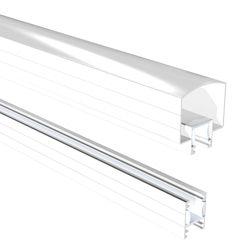 RailBlazers 6 ft. White Hand and Base Rail