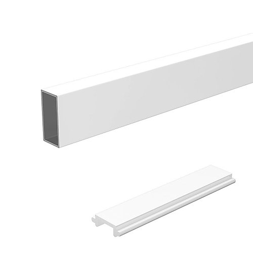 4 ft. White Wide Pickets and Spacers
