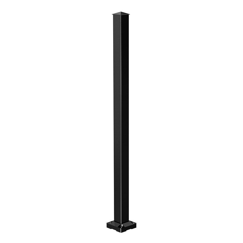 Poteau d'escalier - Noir