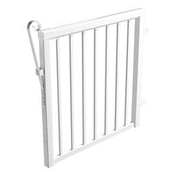 RailBlazers White Picket Gate