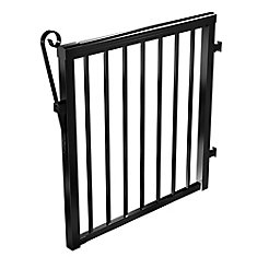 Black Picket Gate