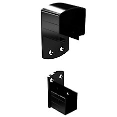 WALL MOUNT BRACKETS BLK