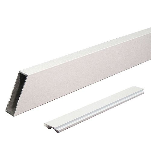 Peak Products Peak Aluminum Railing - White - Wide Stair Picket and Spacers - Single