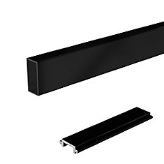 6 ft. Black Wide Pickets and Spacers