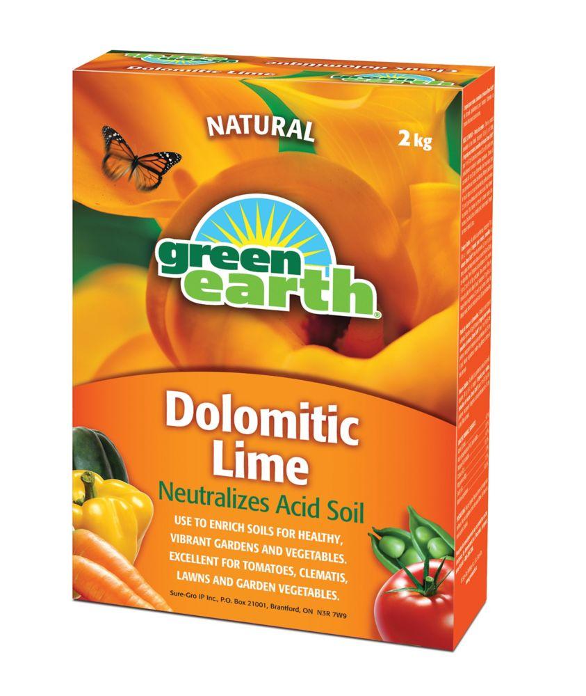 Chaux dolomitique Green Earth (2 kg)