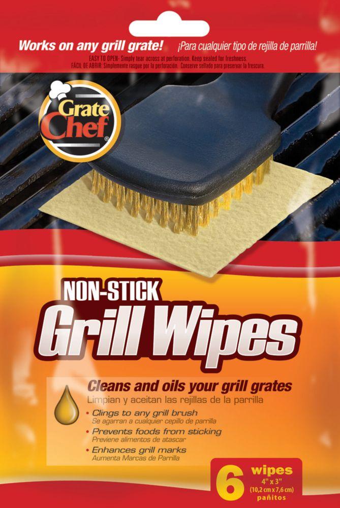 Lingettes de grilloir (Paquet de 6)