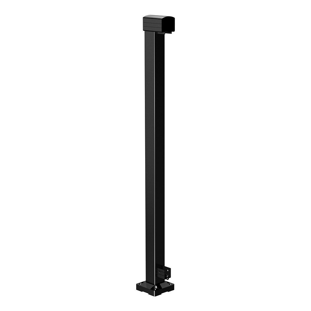RailBlazers Black End Post