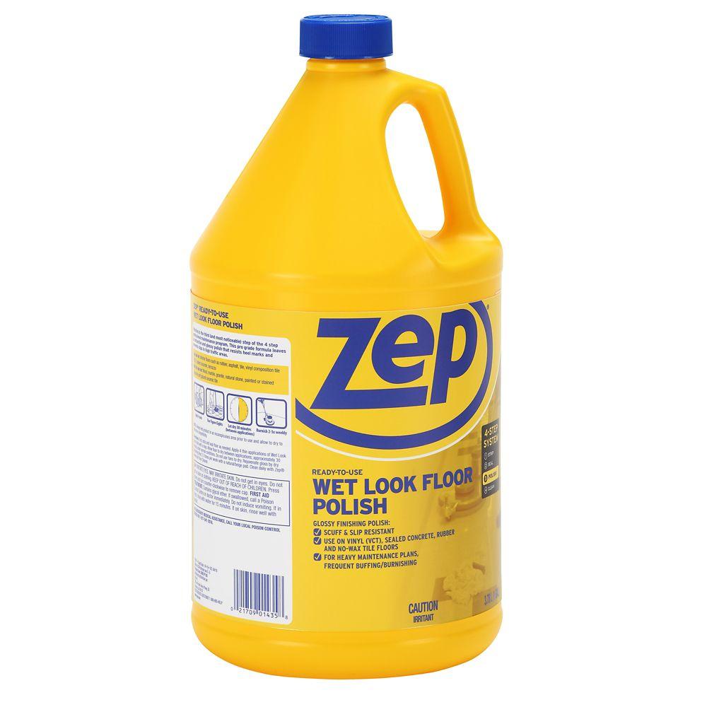Zep Commercial Zep Wet Look Floor Finish 3 78l The Home