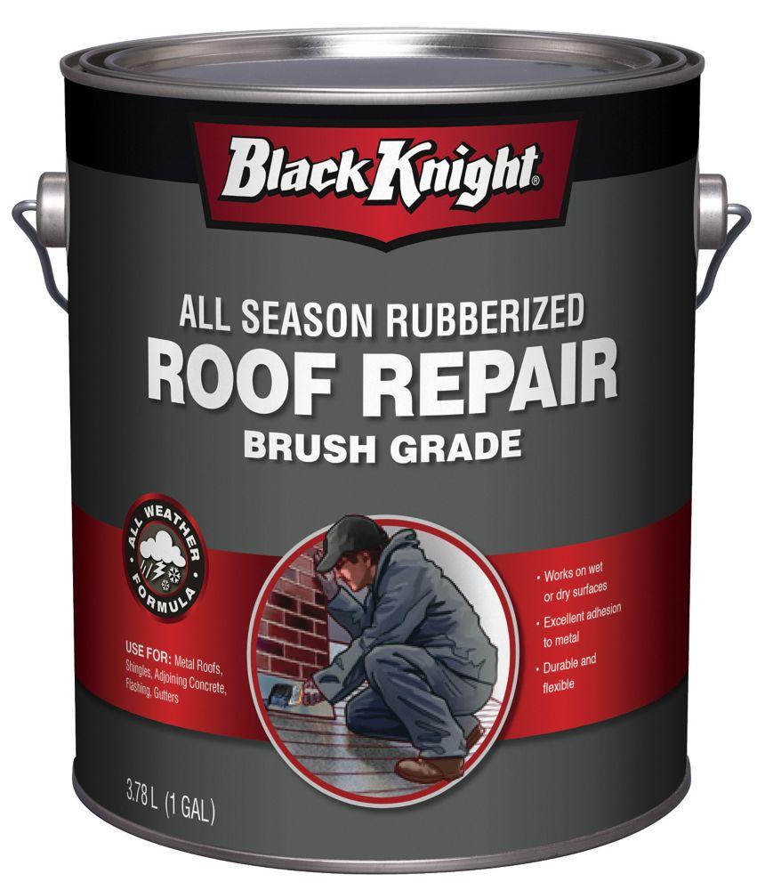 Black Knight 3.78L All Season Rubberized Premium Roof Repair