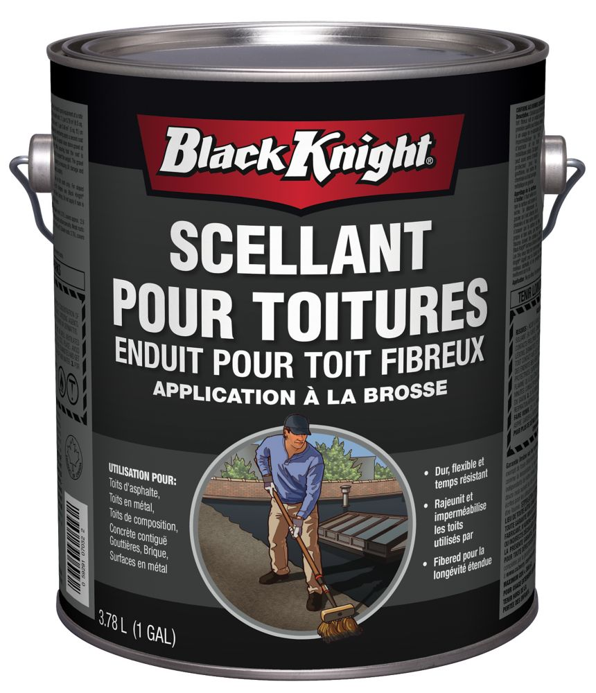Black Knight Roofing Tar Roof Repair Using Roof Sealants