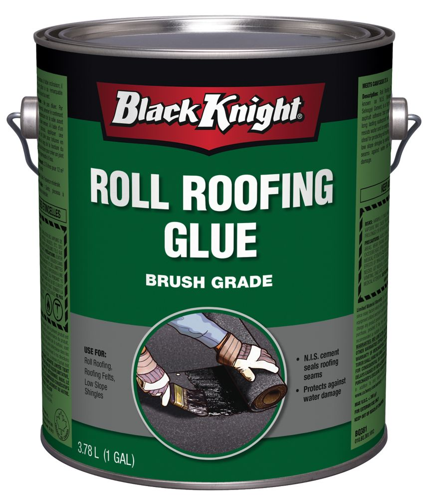 Roll Roofing Glue
