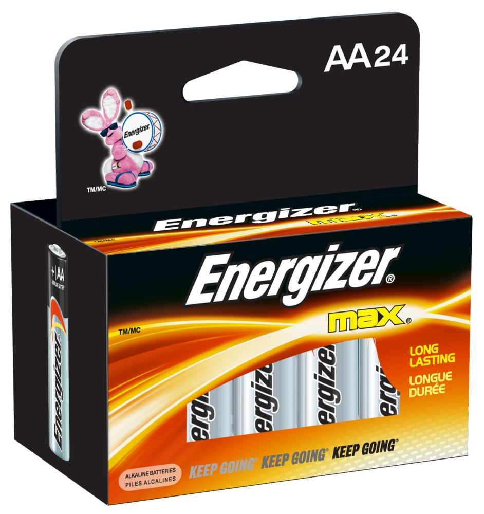 Max AA Battery - 24 Pack