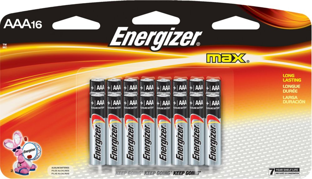 Max AAA Battery - 16 Pack