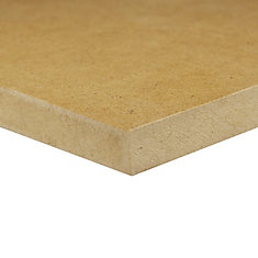 1/2-inch 2 Feet x 4 Feet Medium Density Fiberboard (MDF) Handy Panel