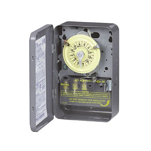 Intermatic Time Switch - DPST - 125 Volts